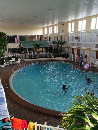 Club Destin : Indoor pool area