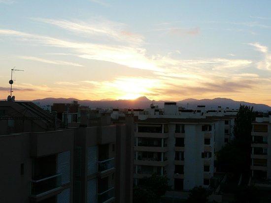Caballero Hotel: Заход солнца с высоких этажей