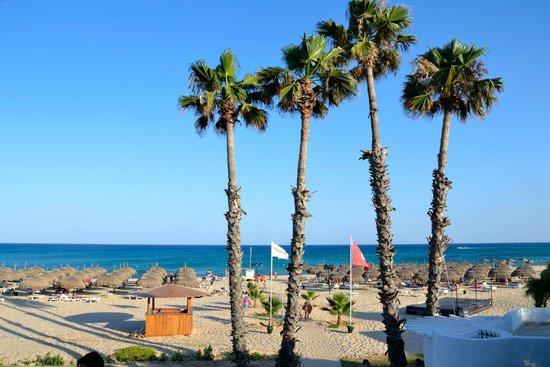 El Mouradi Beach : panorama della spiaggia