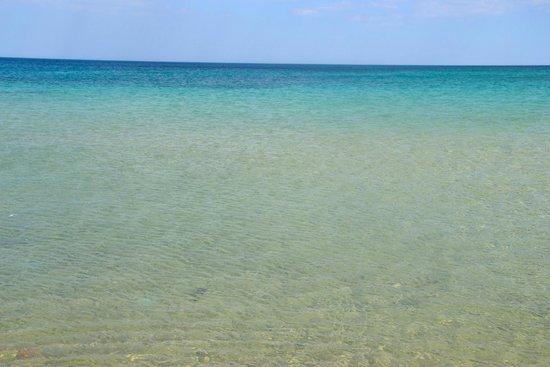 El Mouradi Beach : Mare