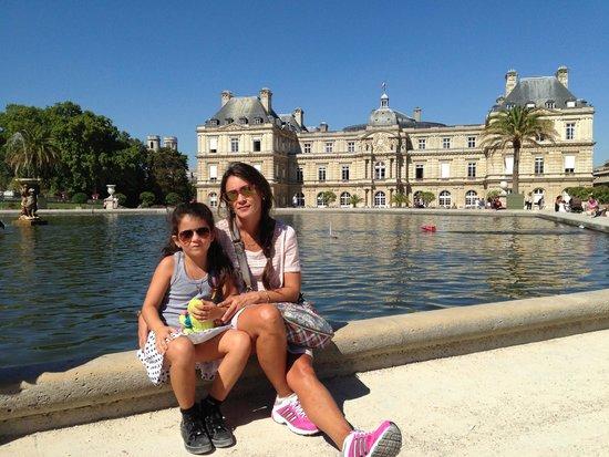 Jardin du Luxembourg : El laguito