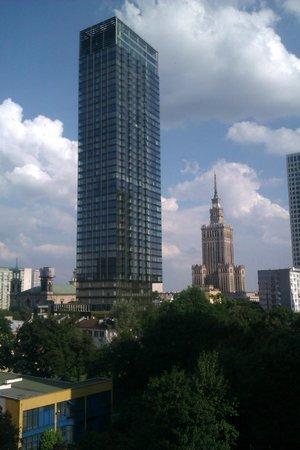 Radisson Blu Centrum Hotel Warszawa : utsikten