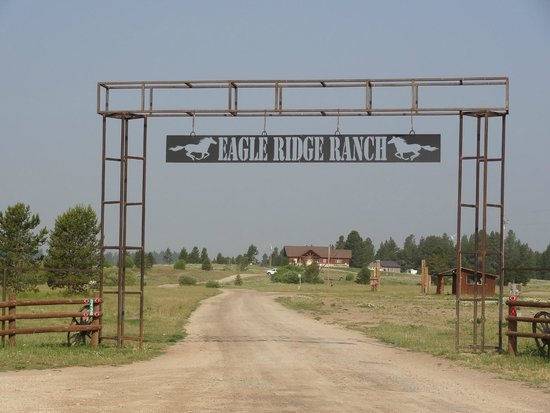 Island Park, ID: Entrance to the Ranch