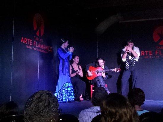 Tablao Arte Flamenco : la actuación! !!