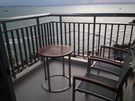Holiday Inn Pattaya: lanai