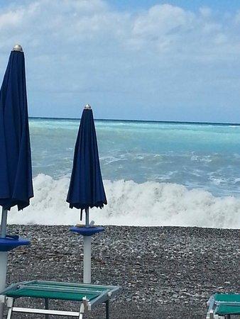 HOTEL GUARDACOSTA : Plaża hotelowa