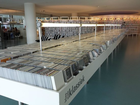 Stadtbibliothek (Openbare Bibliotheek): Cd