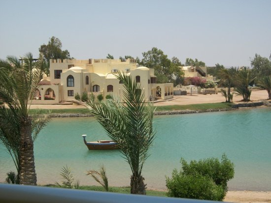 Panorama Bungalows Resort El Gouna : lagoon beach