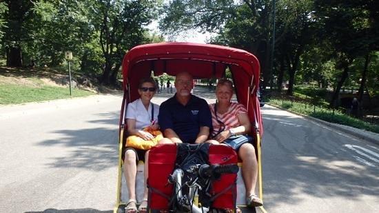 Warwick New York: bike ride in Central Park