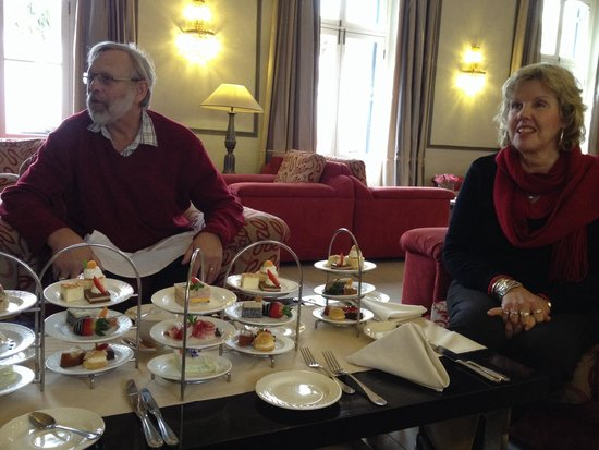 Bosman's Restaurant : Great spread for afternoon tea