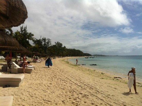 Ambre Resort & Spa: View a long the beach