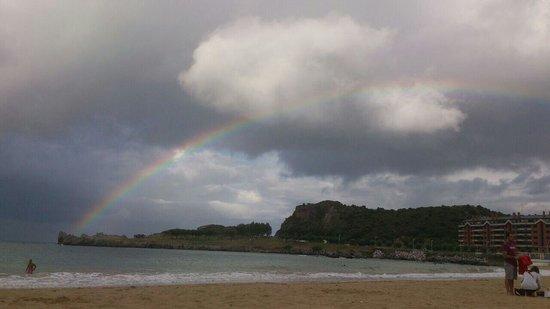 Las Rocas Playa Hotel: 28 de julio verano suave en Castro Urdiales