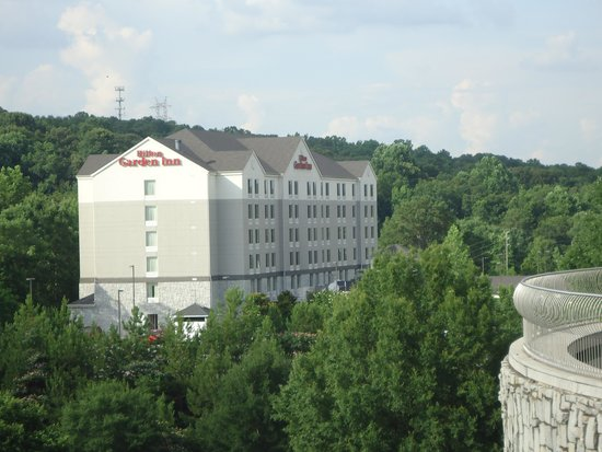 The Statue of Liberty... - Picture of Hilton Garden Inn Birmingham ...