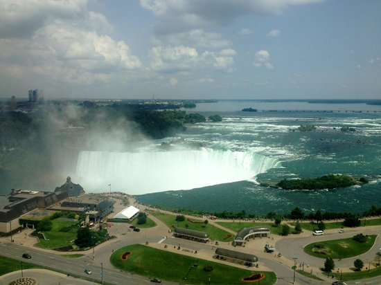 Niagara Falls Marriott Fallsview Hotel & Spa : Beautiful View