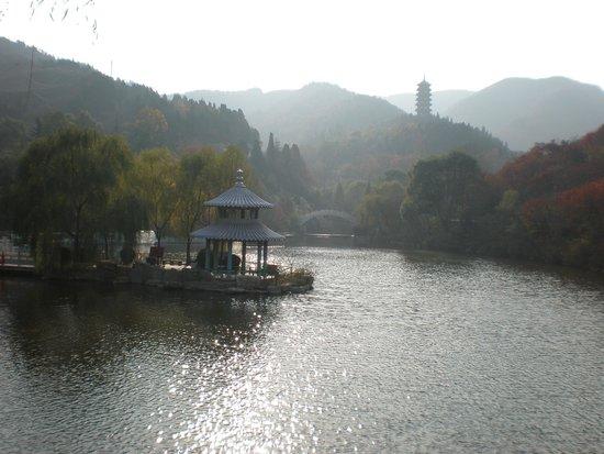 Baotu Spring Park: Red Leaf Mountain Par, Near Jinan