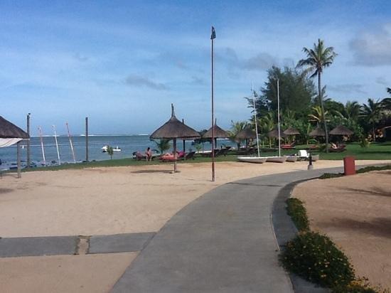 Tamassa Resort : la plage.