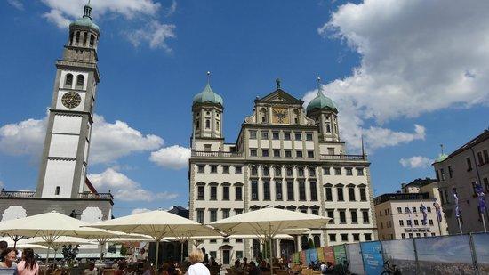 Augsburg City Hall (Rathaus): Il Rathaus in Augsburg.