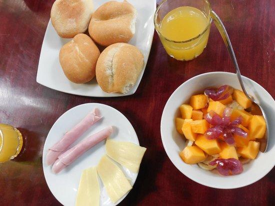 La Casa Fitzcarraldo: breakfast also comes with eggs to order