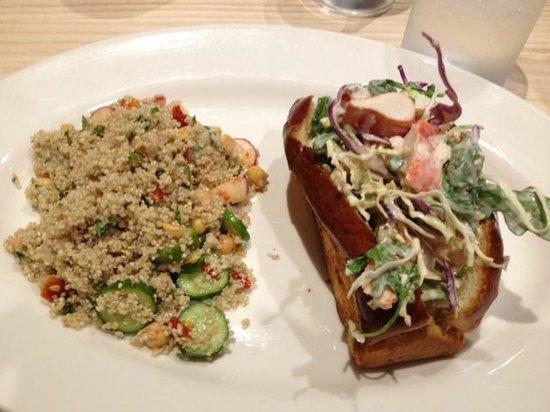 doc bs fresh kitchen craigs knuckle sandwich with maine lobster - Doc Bs Fresh Kitchen