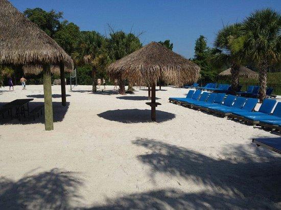 Bahama Bay Resort Orlando by Wyndham Vacation Rentals : Beach area