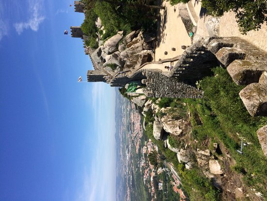 Castle of the Moors : Visual lindo.