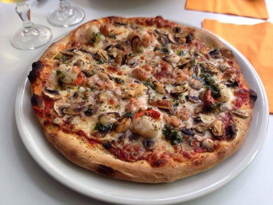 Le patio des sables : Pizza saint Jacques