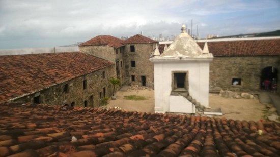 Reis Magos Fortress: pátio central
