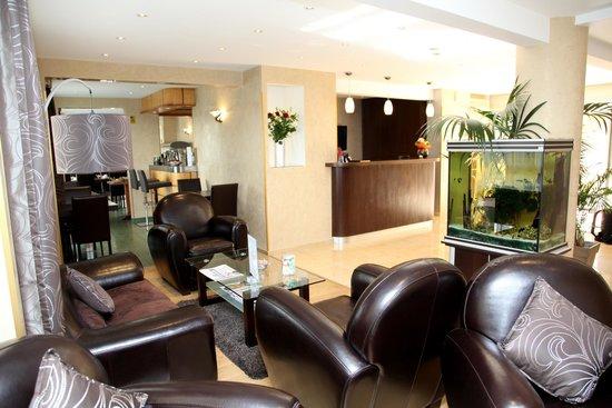 Hotel Cannes Gallia: Espace Réception