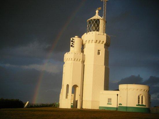 St Catherine's Lighthouse: St Catherines Hazel Coles