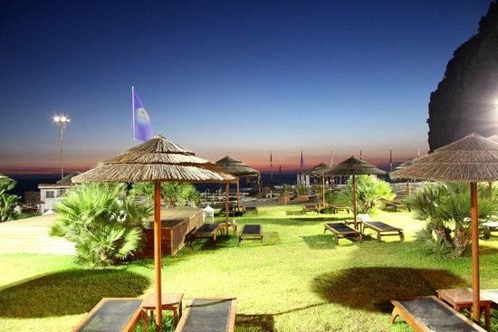 Sea Club Conca Azzurra Resort : view from dinning terrace