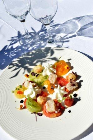 Restaurant Les Bories : PLAT CHEF