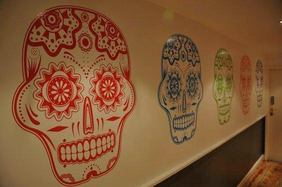 Liming Mexican Grill: Skulls