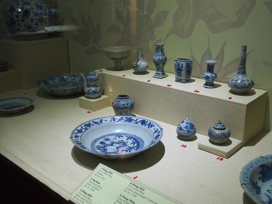 Musée national : Koleksi Keramik dari China