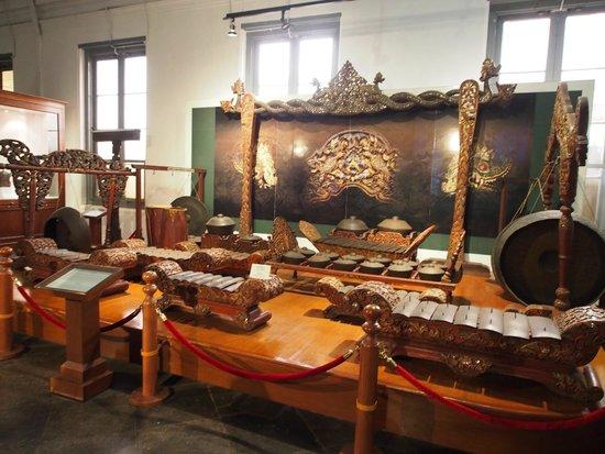 Musée national : Seperangkat Gamelan, Alat musik tradisional Jawa