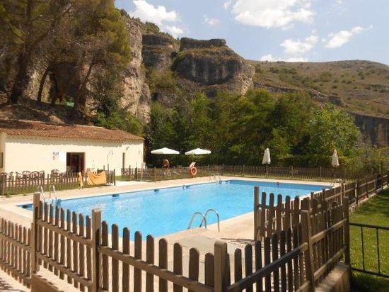 Parador de Cuenca: the pool