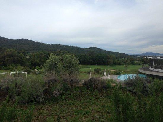 Argentario Golf Resort & Spa: вид с балкона