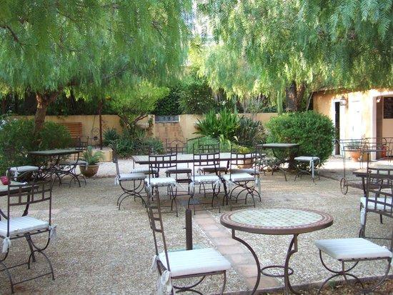 Hotel La Petite Boheme : le jardin exotique