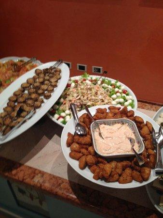 Hotel Imperiale: buffet del pranzo