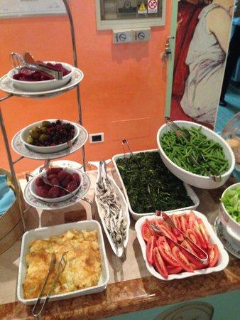 Hotel Imperiale: buffet di verdure
