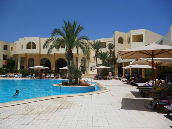 Green Palm: piscine