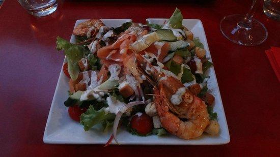 サラダ  Picture of LEsprit Gourmand, Nice  TripAdvisor