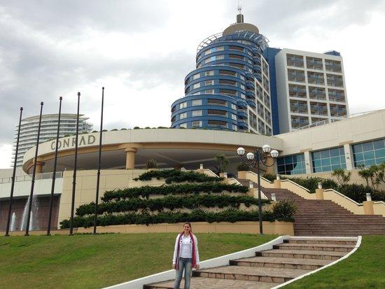 Conrad Punta del Este Resort & Casino: Visão externa