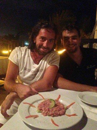 Da Luisa : Una foto con il grande Chef Giorgio