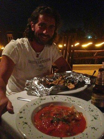 Da Luisa : La nostra cena