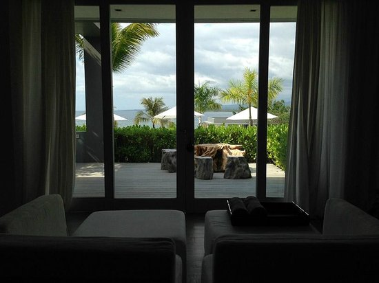 The Lombok Lodge: View from the room