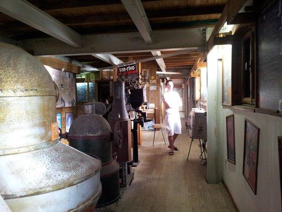 Musee du Cafe et du Cacao / Domaine Chateau Gaillarg: Dans le musée plein de poussière