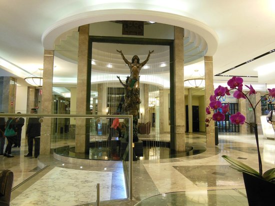 Marquis Reforma Hotel & Spa: Beautiful lobby