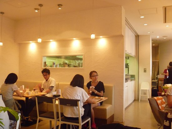 Hiyori café : 店内の様子