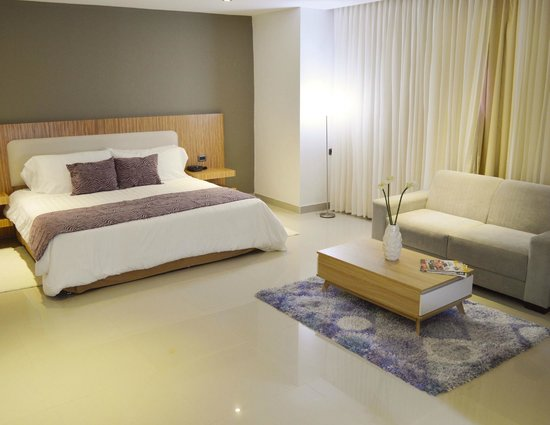 Park inn by Radisson Diamond Barranquilla : Habitacion Junior Suite