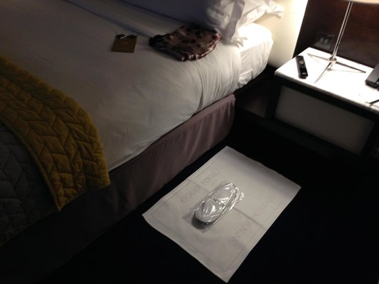 The Marker Hotel: Slippers & Chocolate